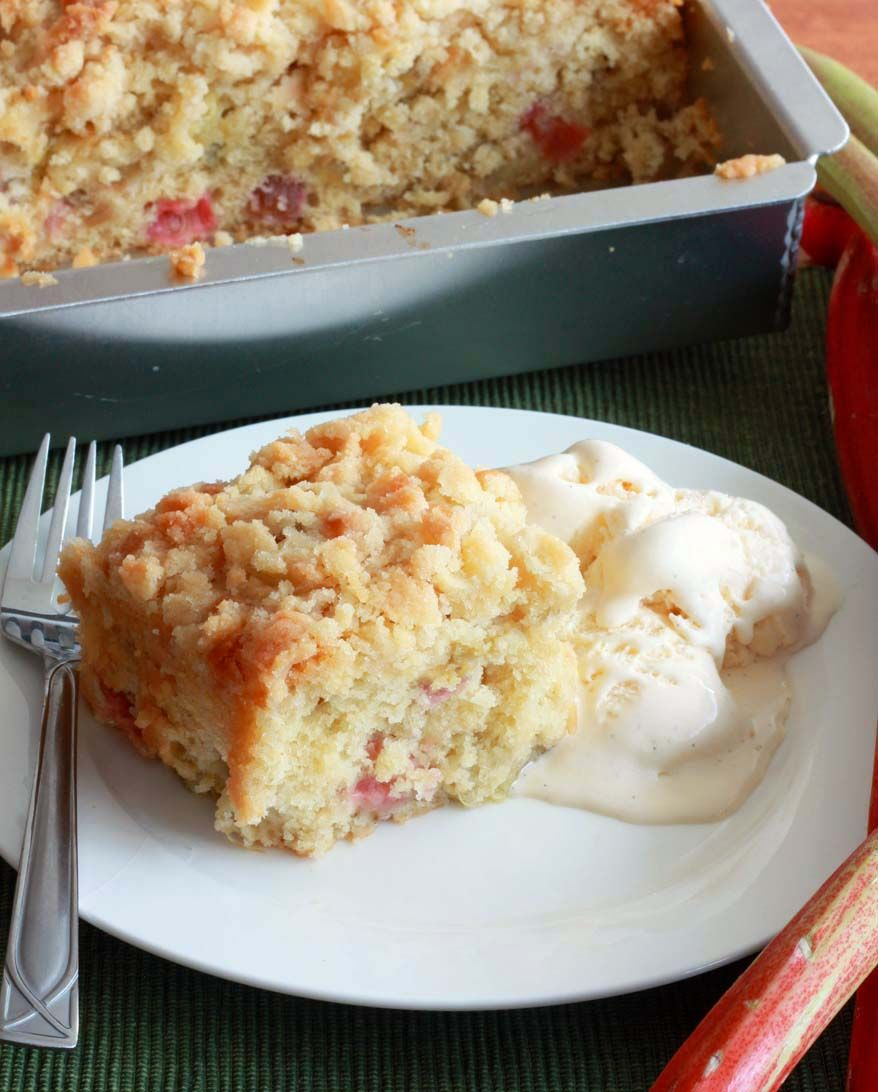 Rhubarb Streusel Cake Recipe Streusel Cake Rhubarb Recipes Desserts