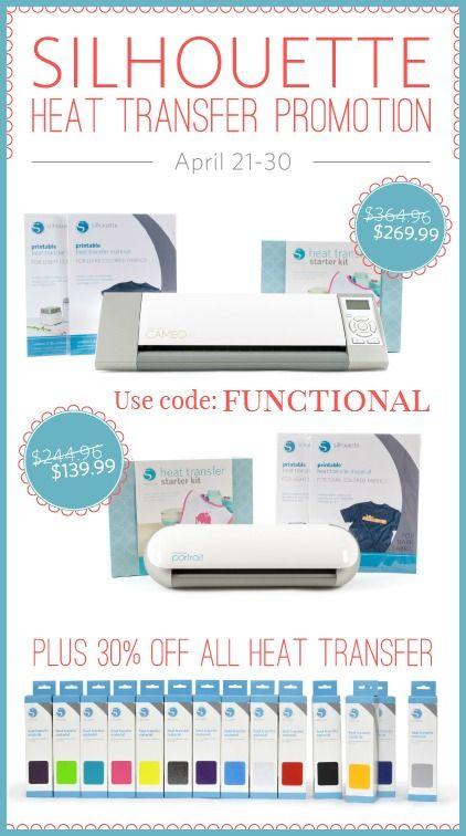 Silhouette Heat Transfer Sale