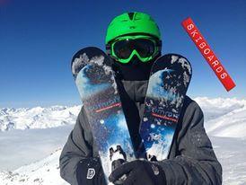 Summit #skiboards in France