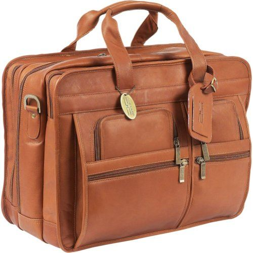 Special Offers Available Click Image Above: Clairechase Jumbo Executive Laptop Briefcase (saddle)