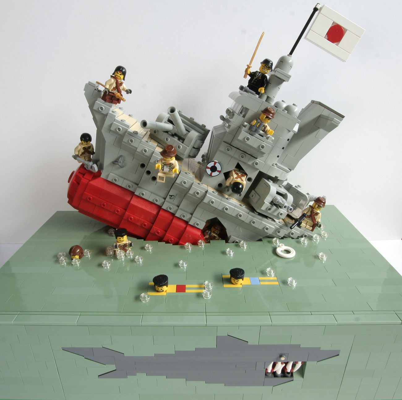 Don T Go In The Water Lego Pinterest Lego Lego