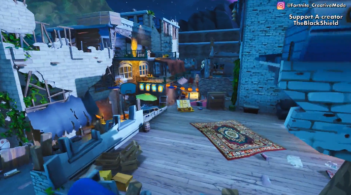 Pin By K Y On Fortnite Creative Codes Post Apocalyptic City Secret Location City
