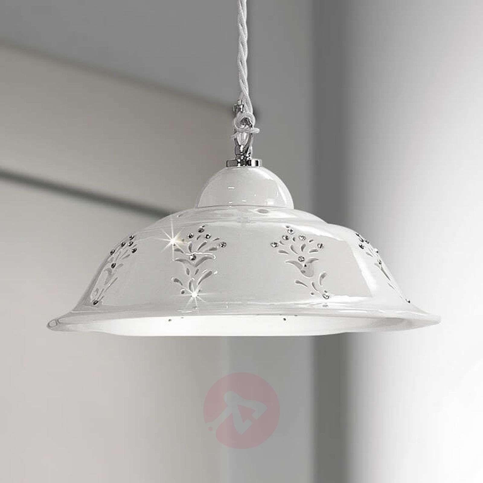 Kształtna Ceramiczna Lampa Wisząca Guiliano Lampy Wiszące