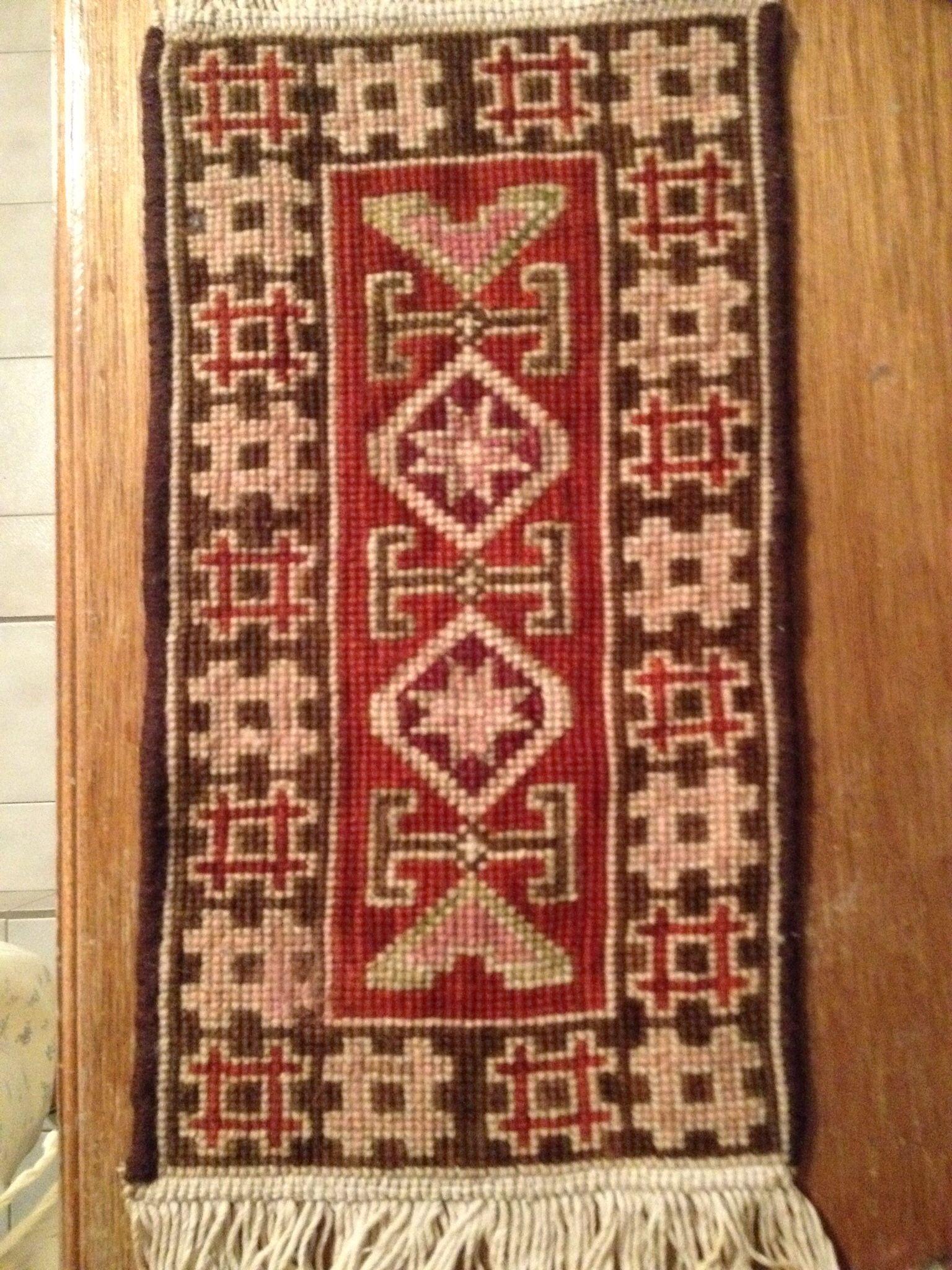Carpeta, punto de cruz. Arte en Tapeteria.