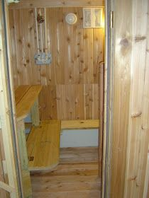 How To Build A Sauna In Your Basement Building A Sauna Wood