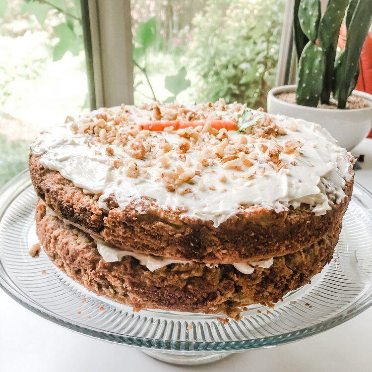 The BEST Carrot Cake! (Gluten-free, Grain-free, Da