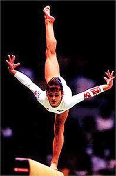 Dominique Moceanu HD Gym Photos | Gymnastics pictures