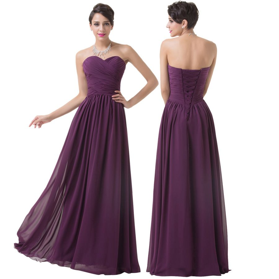 Asombroso Lace Chiffon Bridesmaid Dress Festooning - Vestido de ...