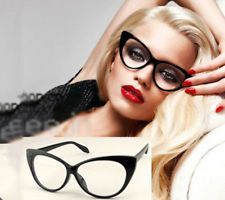 designer glasses frames for women  Clear Lens Rectangular Frames Glasses Designer Optical Eyeglass ...