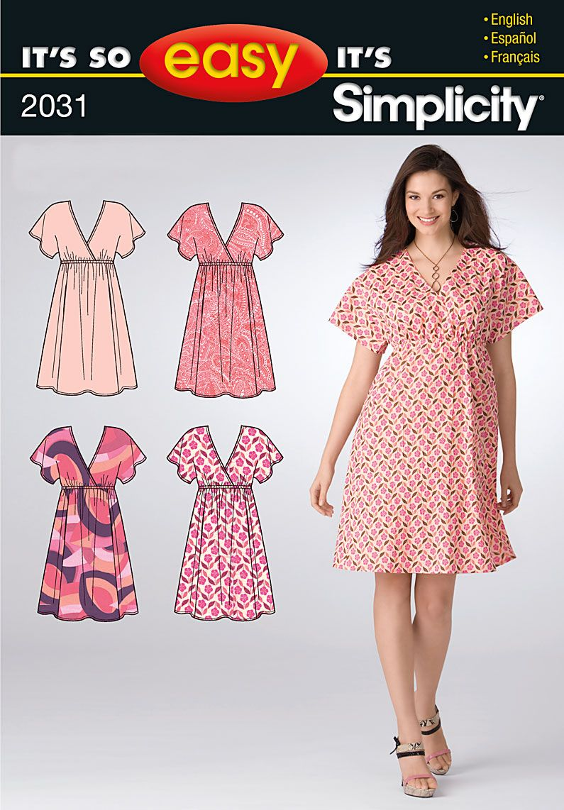 Pattern: Simplicity 2031 Size:10-20 Availability: OOP ...