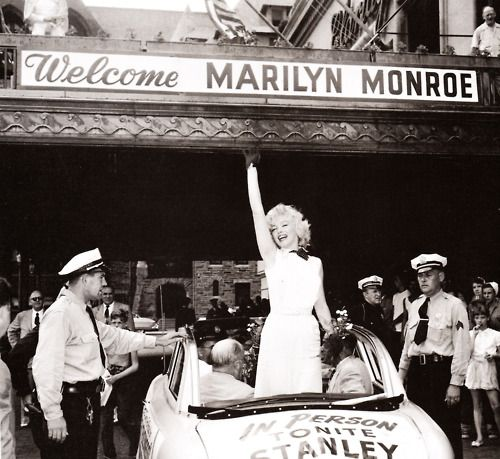 Marilyn Monroe in Atlantic City, 1952