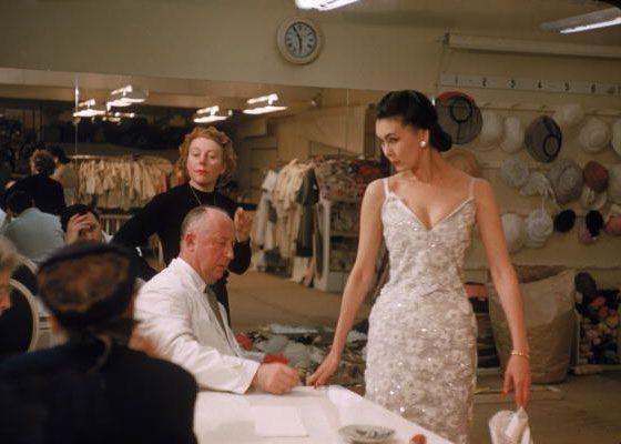 1957 - Christian Dior with Alla