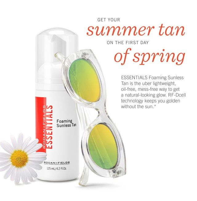 Get that beautiful sun kissed glow without the damaging harmful rays!!