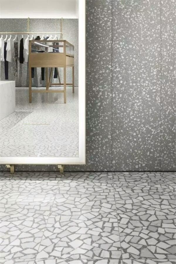 Pin by NEMO on 6-VALENTINO | Terrazzo flooring, Men store ...