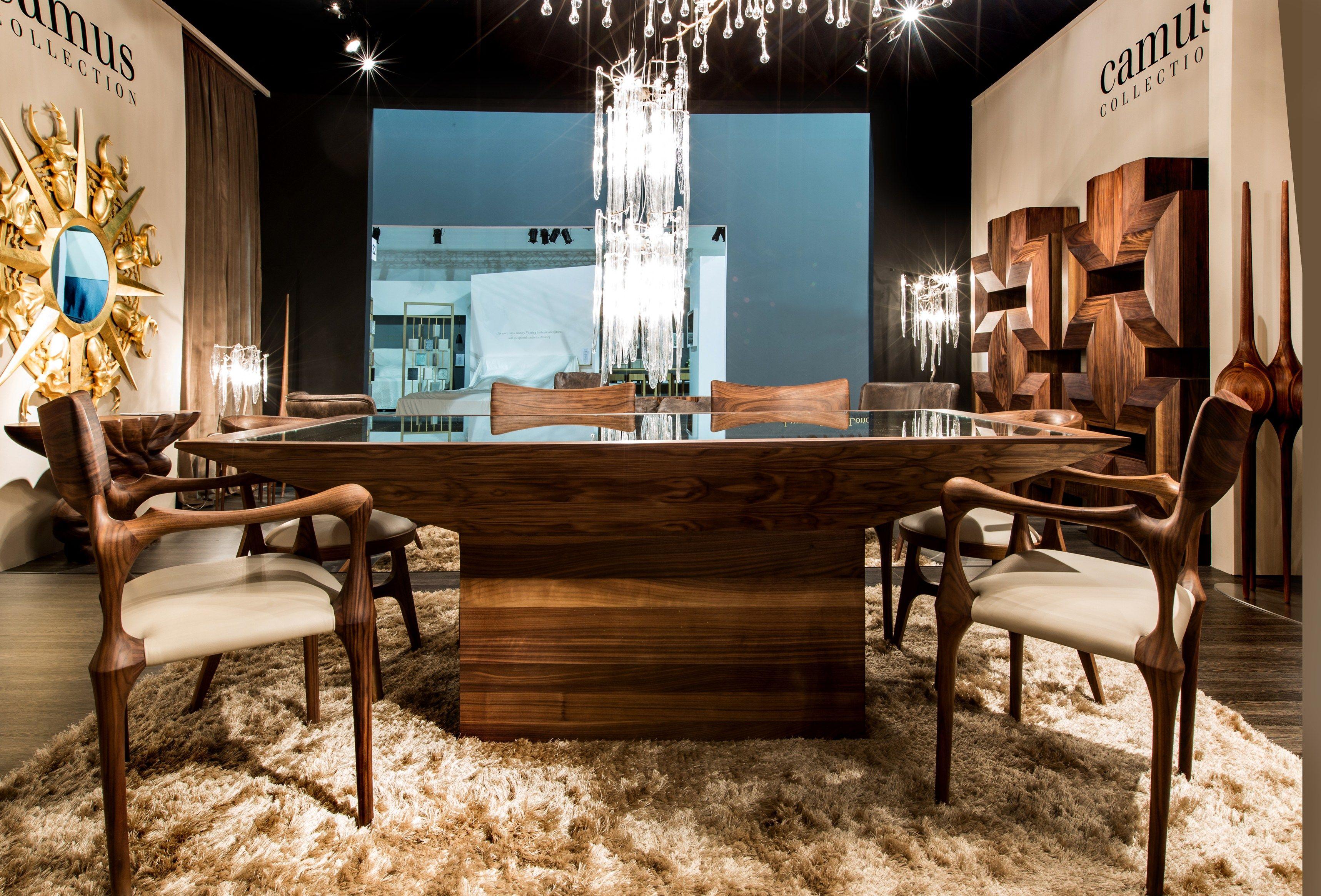 桌子 SAVOY DINING TABLE by Camus Collection