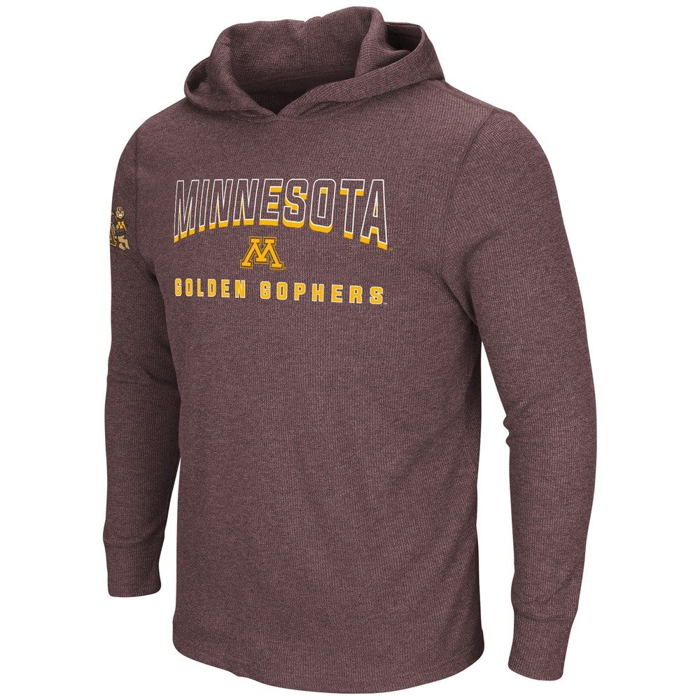 81e9bbaaf Men's Minnesota Golden Gophers Thermal Hooded Tee | Products ...