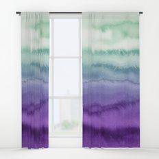 MERMAID DREAMS Window Curtains