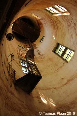 Suurpea 1. Water tower inside, Estonia
