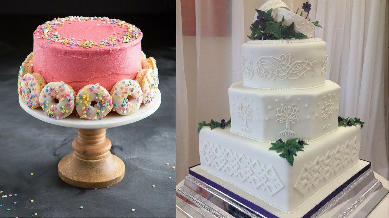Amazing Cake Ideas Compilation || Most Satisfying Cake ...