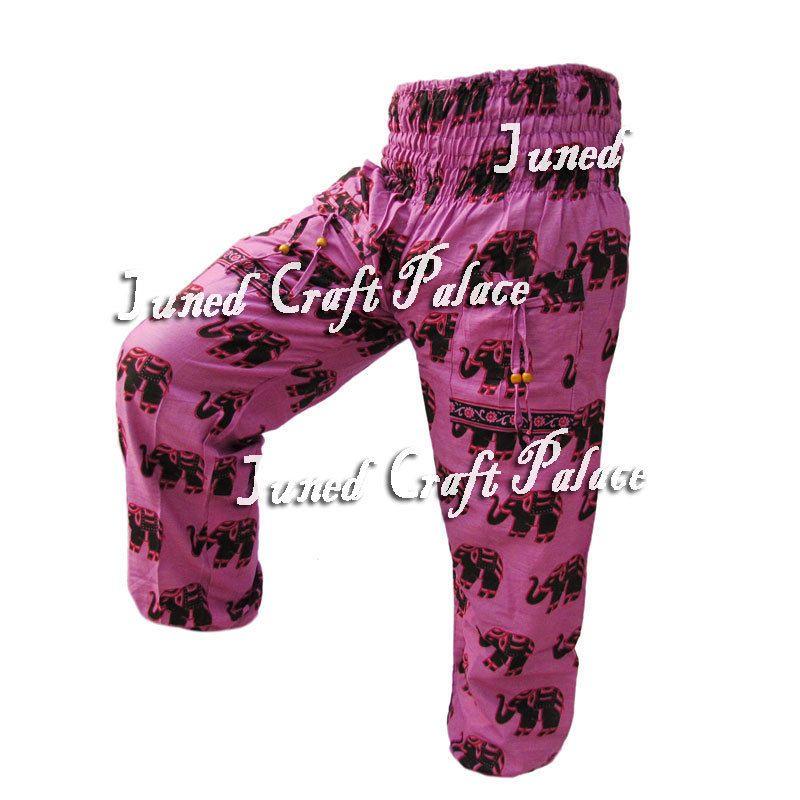 New Indian Women Gypsy Hippie Aladdin Baggy Trousers Casual Harem Cotton Pants _ #Junedcraftpalace #Harem