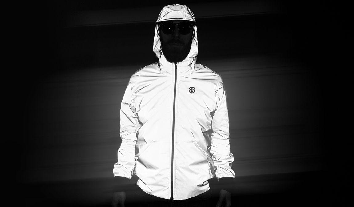 Flashback Photobomber Hoodie | Men's Reflective Jacket