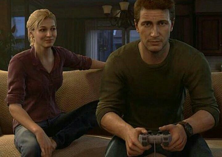 Uncharted 4 Nathan And Elena Oh Mann This Part Was Awesome