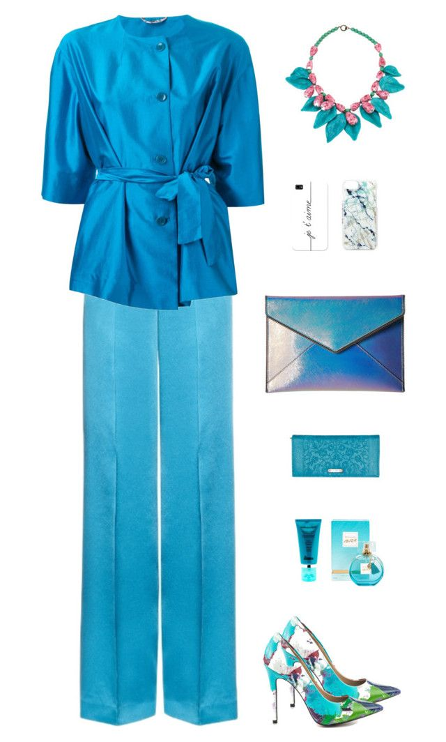 """""""Etro Kimono Sleeves Jacket"""" by sol4ange ❤ liked on Polyvore featuring TaylorSays, Etro, Rebecca Minkoff, Billabong, Skinnydip, Casetify, River Island, Dr. Brandt and monochrome"""