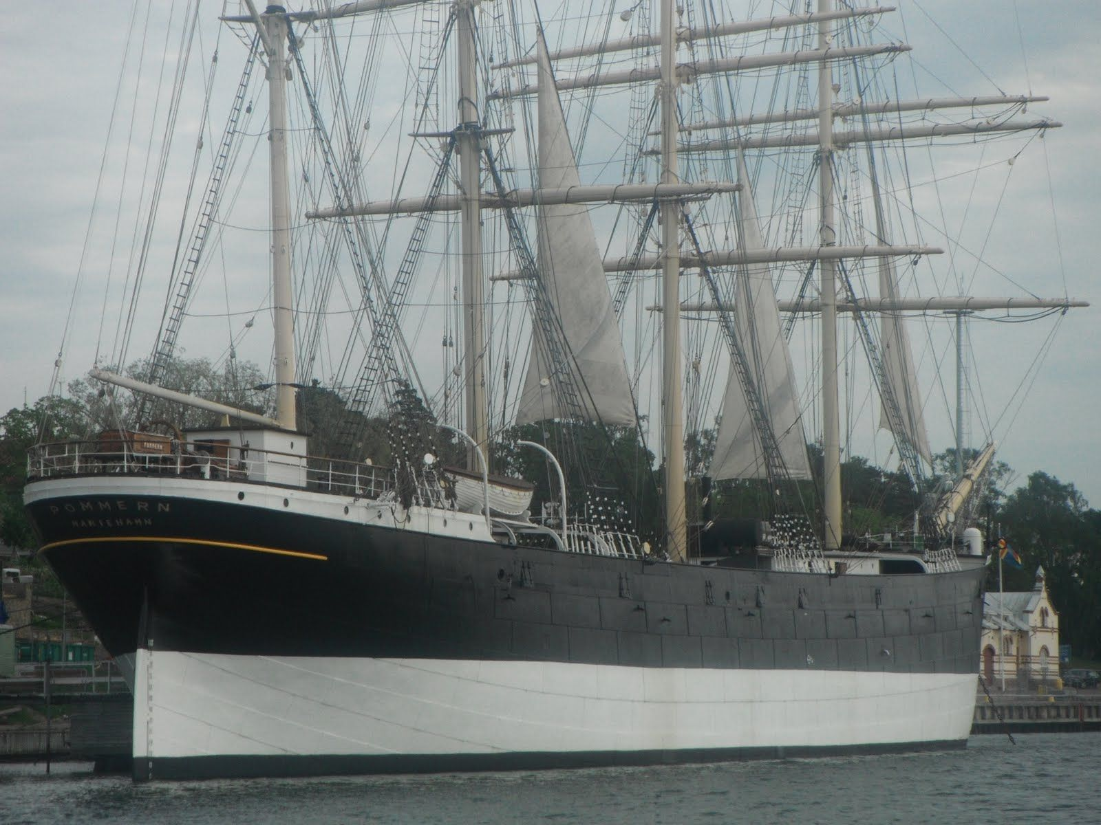 The POMMERN now a great museum beautifully maintained & one of the