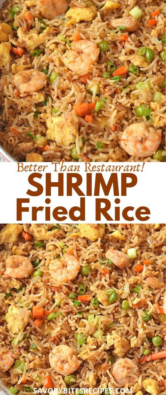 Takeout Style- Shrimp Fried Rice
