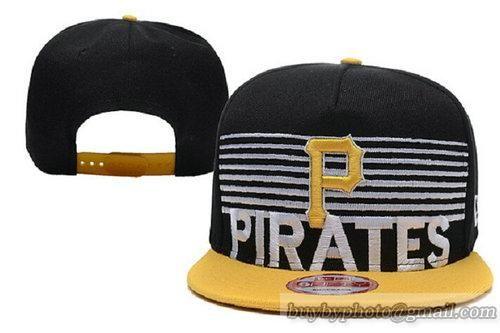 MLB Pittsburgh Pirates Snapback Hats Adjustable Caps White Stripe 28 ... d2056f044b2