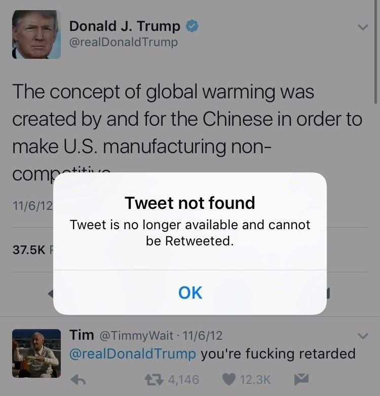 Tim Pales On Global Warming Trump This Or That Questions