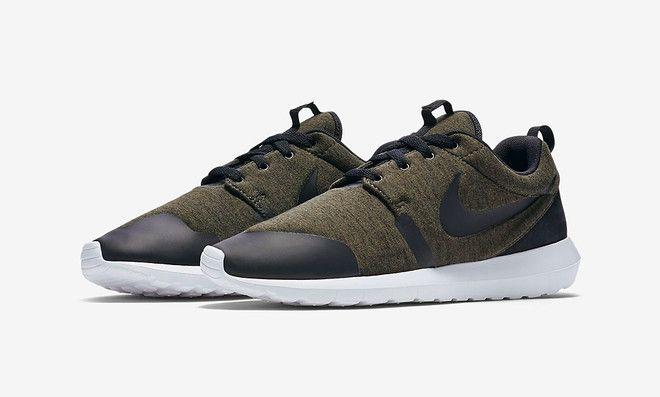 Nike Roshe One TP Fleece Cargo Kaki
