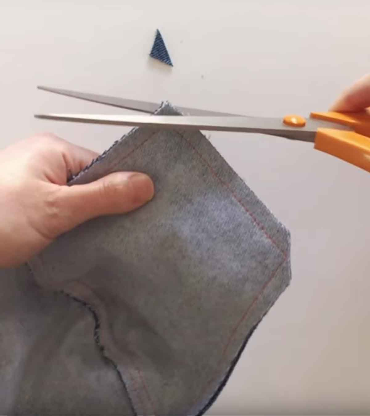 How To Make A Denim Face Mask In 2020 Face Mask Sewing Crafts
