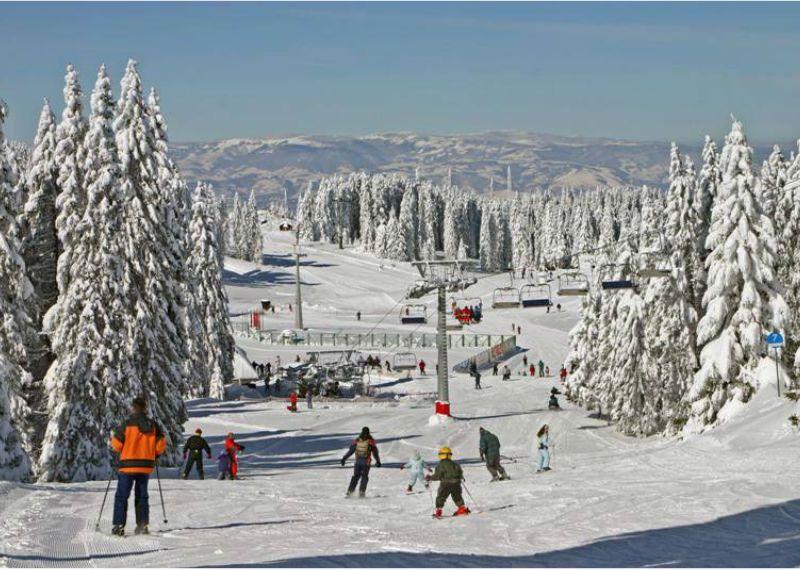 Skiing on Kopaonik, #Serbia