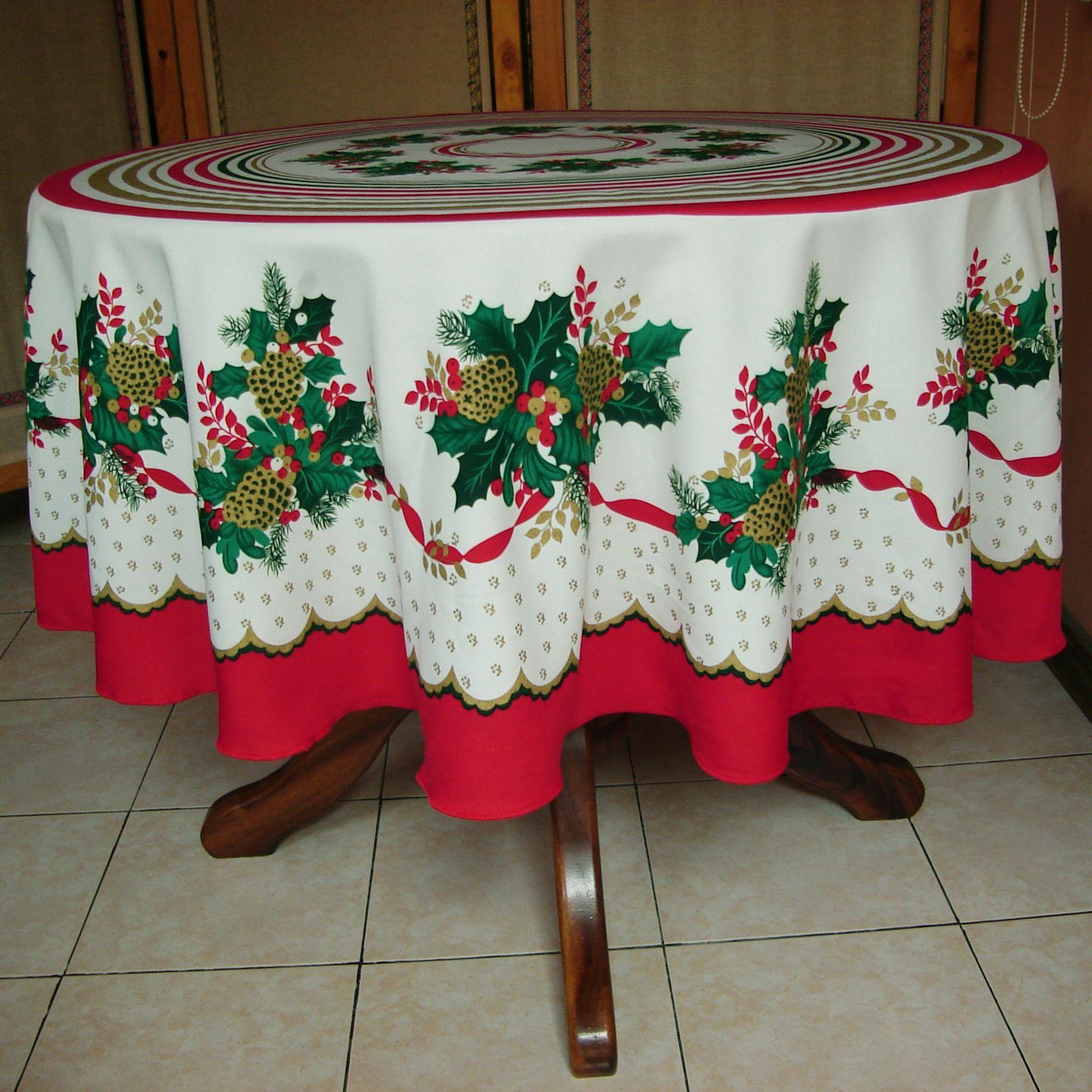 Resultado de imagen para manteles navide os navidad - Manteles para navidad ...