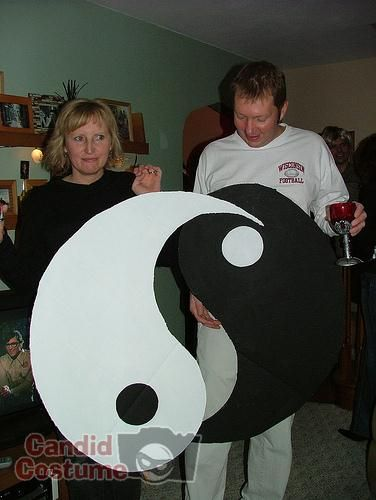 Ying Yang Twins Christmas.Yin And Yang Couples Costumes In 2019 Halloween