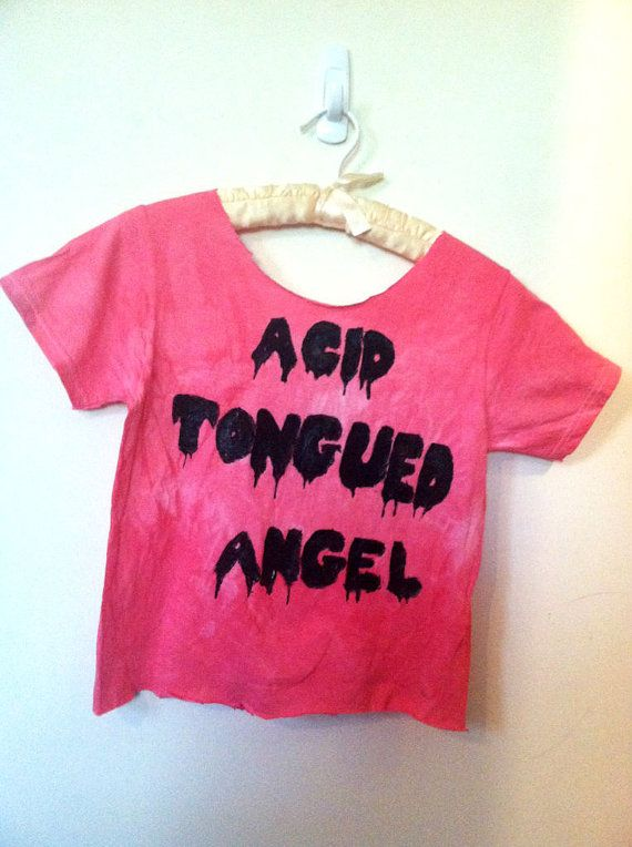 2cab1544 Customize Your Own Dripping Font Grunge Tshirt or by heroineairen, $25.00