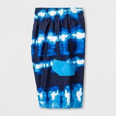 Boys' Swim Trunk - Cat & Jack Navy M, Blue