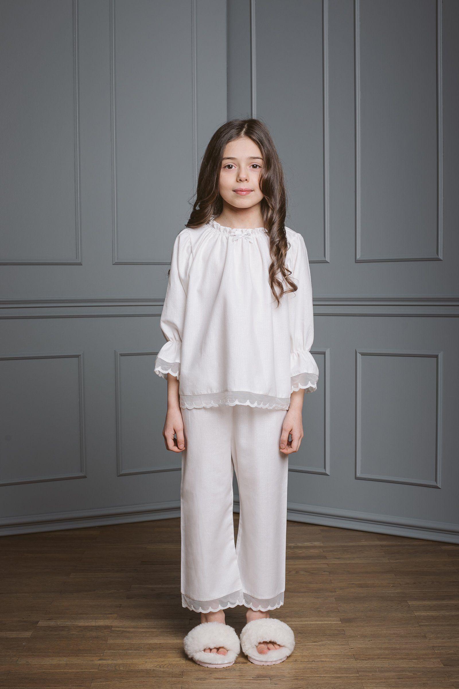 d0283ad492e3c Grace kids' pyjama set milk in size 10-12 in 2019 | △ Kids ...
