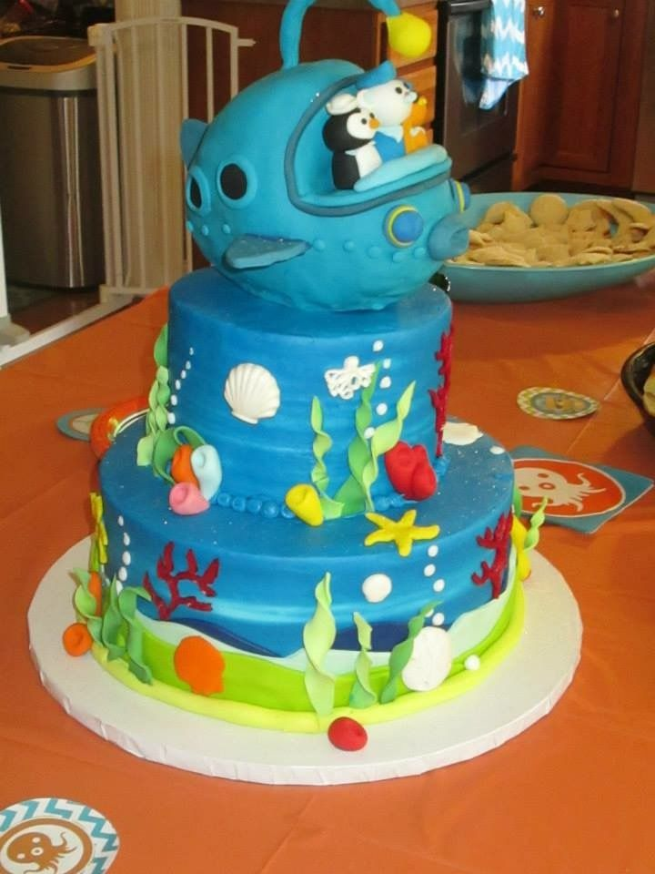 Octonauts cake Kellen Octonauts party Pinterest Octonauts party