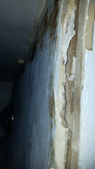 Water Damage Wall Water Damaged Wall Crease Water Damage Sheetrock