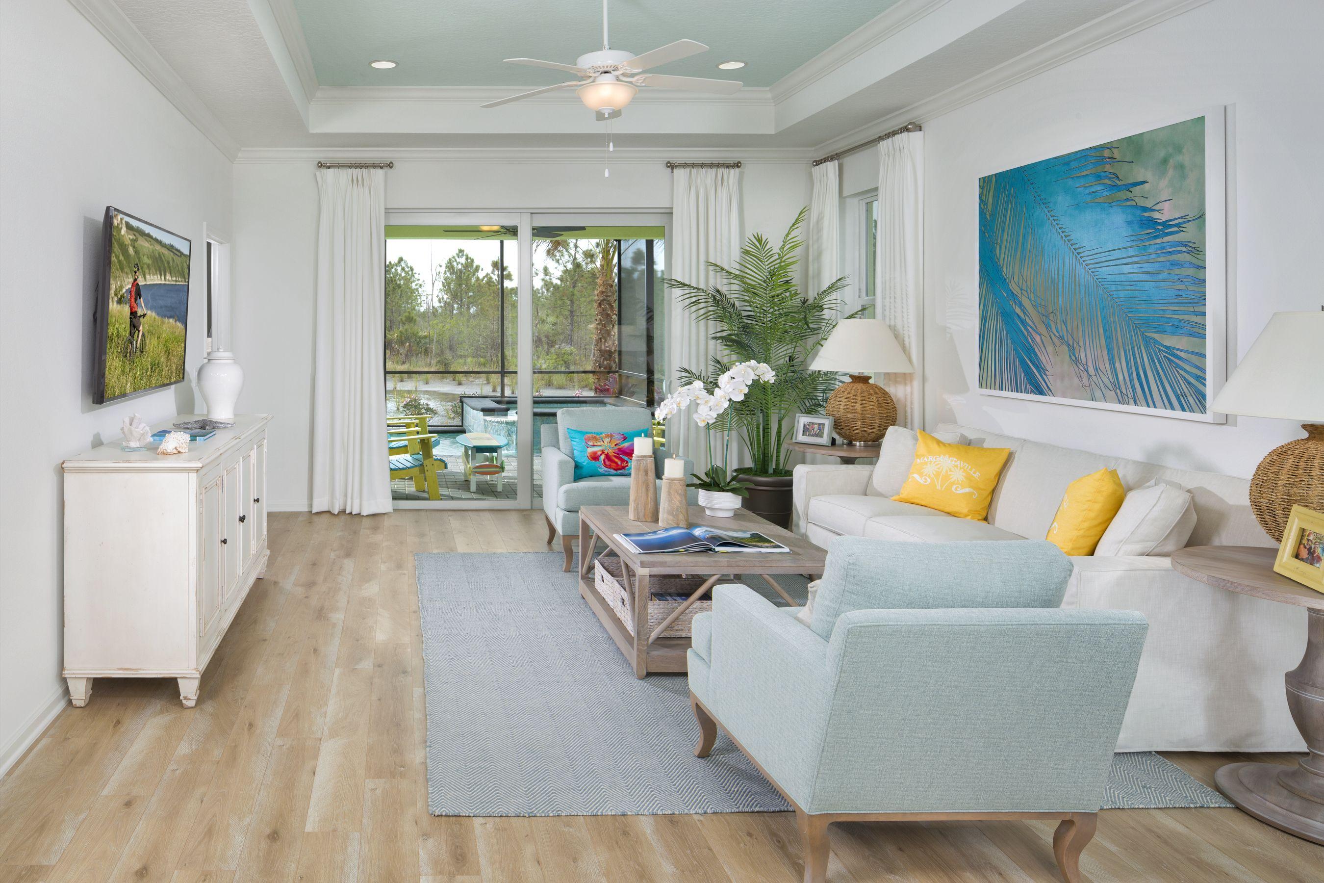 Jamaica Model At Latitude Margaritaville Daytona Beach Minto Communities Retirement Community Outdoor Furniture Sets Cozy Interior