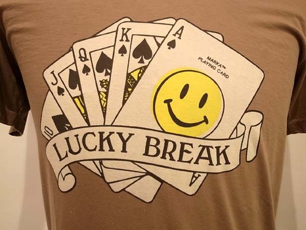 Great graphic for a lucky break