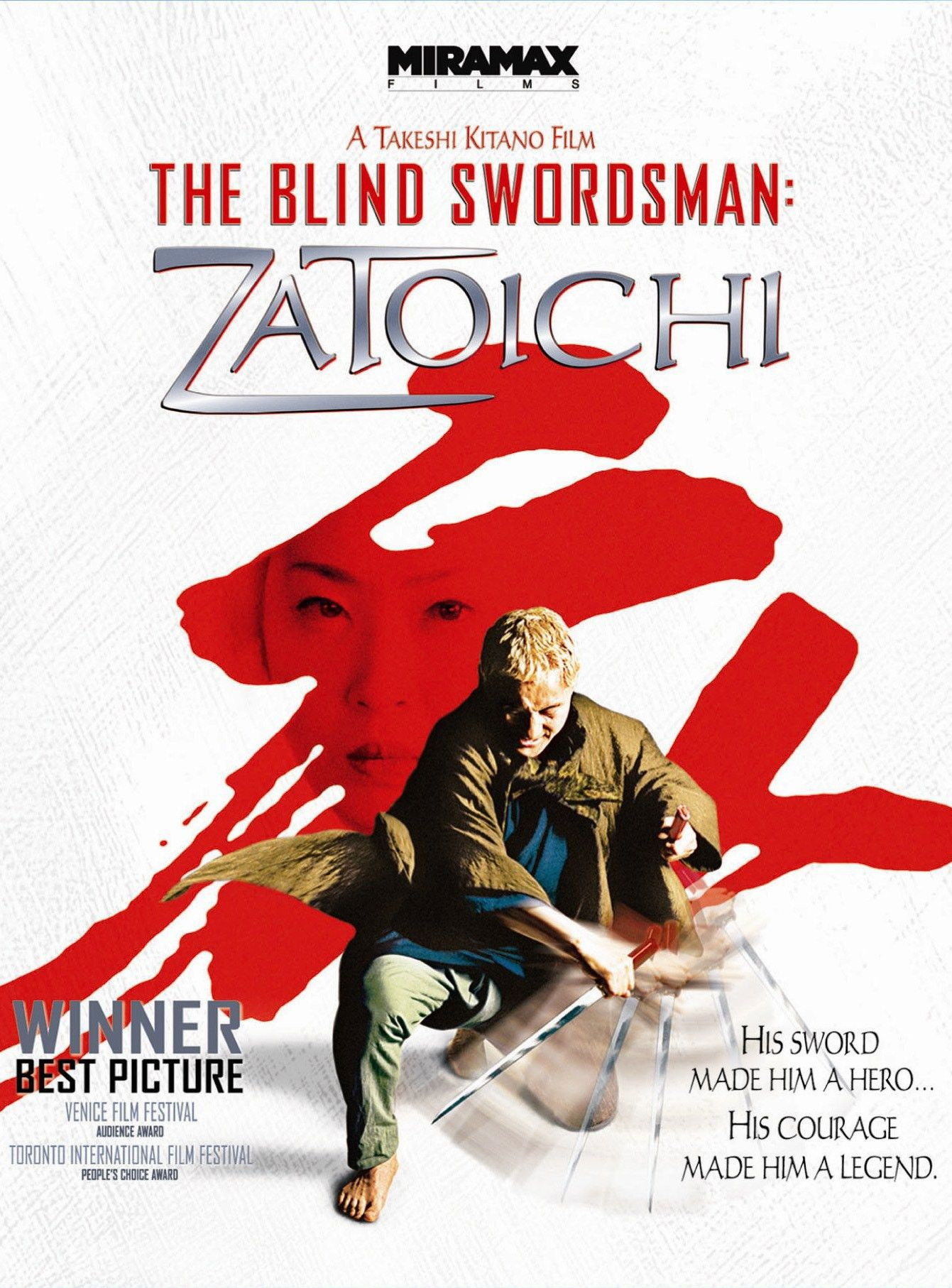 'The Blind Swordsman Zatoichi' (2003) Action movies