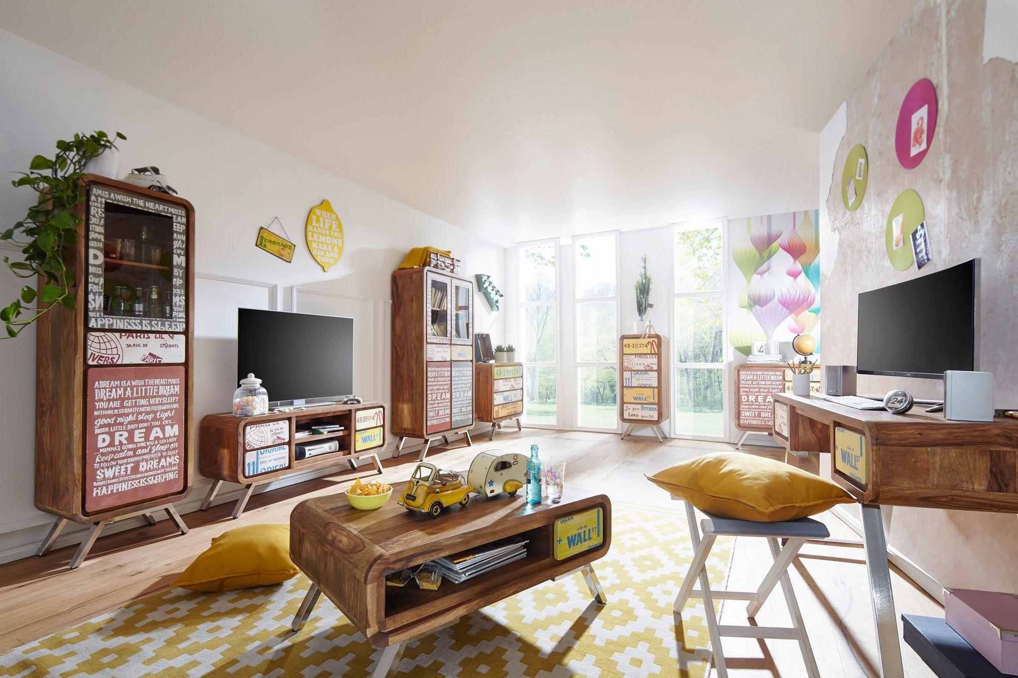 Jedes Stück ein Blickfang für Ihr Wohnzimmer. Außergewöhnliche Möbel ...