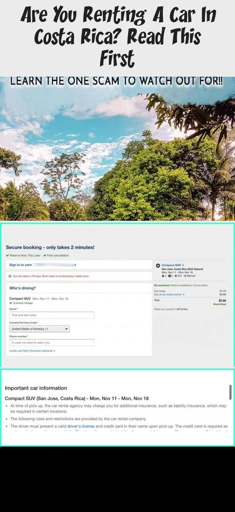 Are You Renting A Car In Costa Rica? Read This First in