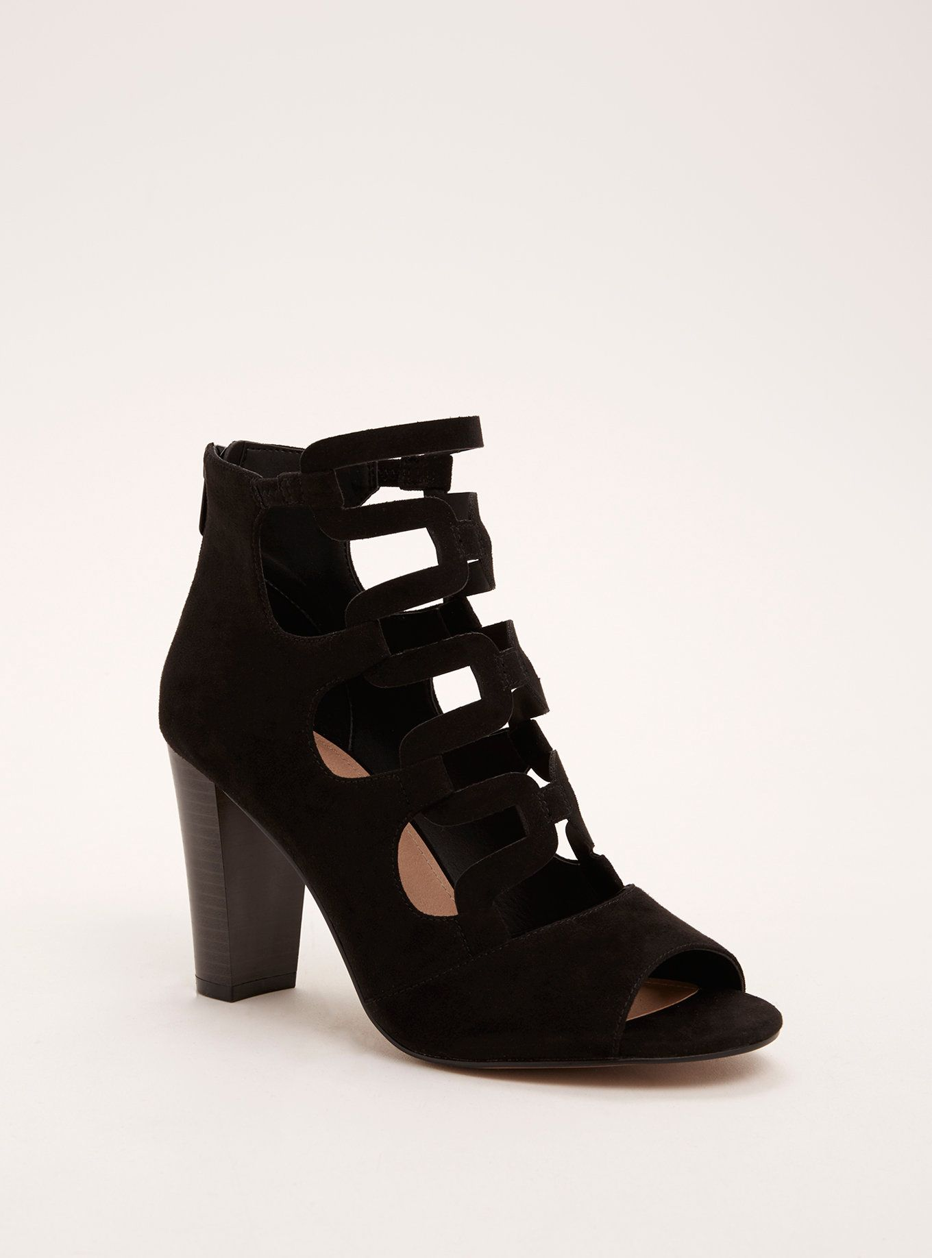 740ecfc5735 Strappy cage stacked heels wide width need wide width shoes jpg 1360x1836 Plus  size wide width · Download Image