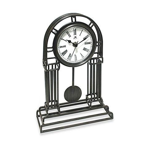 Infinity Instruments Cathedral Metal Pendulum Clock