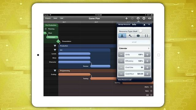 An introduction to OmniPlan for iPad by The Omni Group Apps