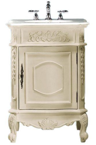 Antique chest for bathroom vanity
